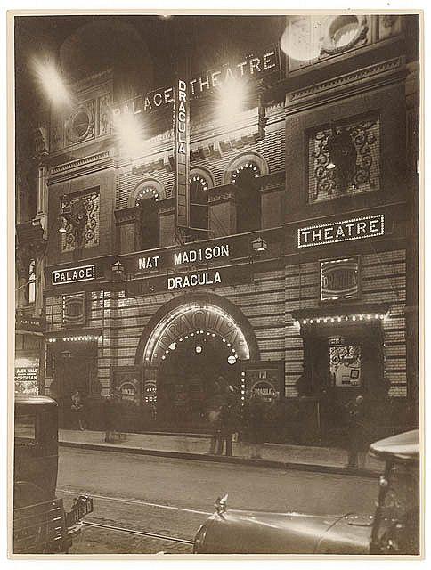 """Dracula"", Palace Theatre, Pitt Street, Sydney, 1929 / by Sam Hood"