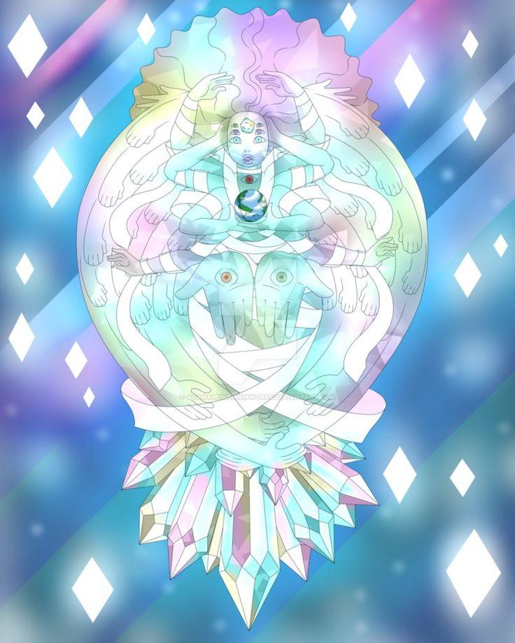 Steven Universe - The Cluster Formed by AtamaMuhonninWorks