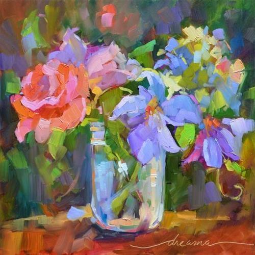"""Color Glory"" - Original Fine Art for Sale - © Dreama Tolle Perry"