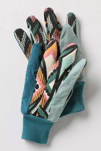really cute gardening gloves