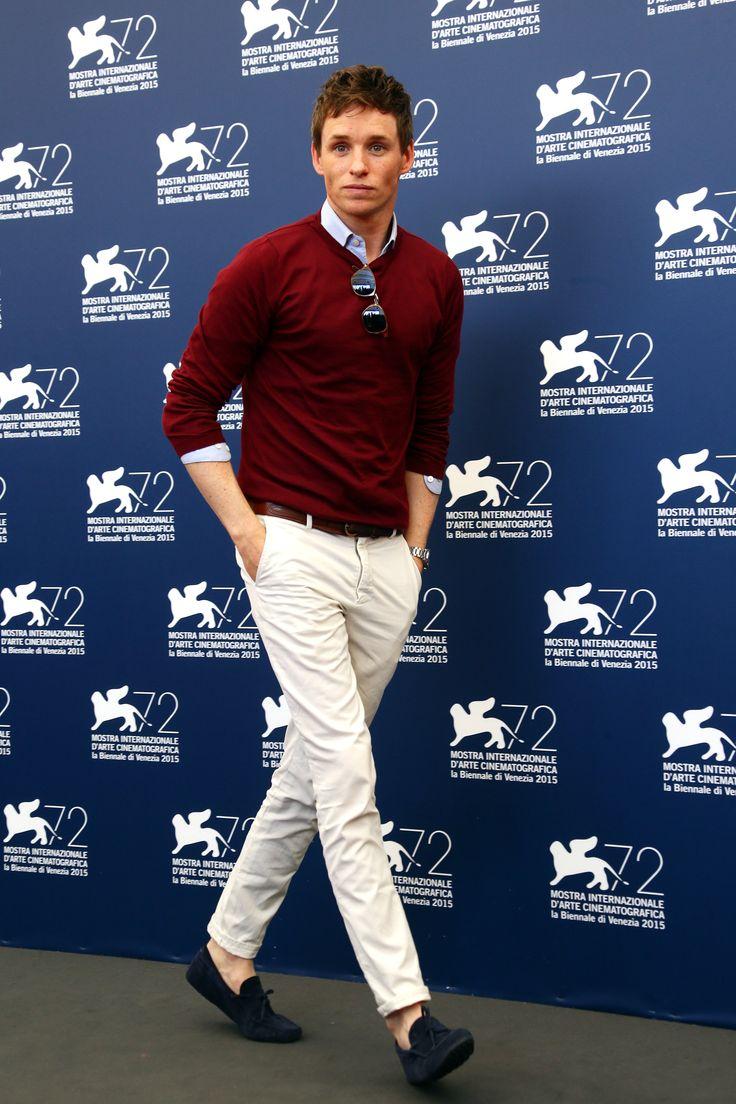 EDDIE REDMAYNE'S MASTERY OF CASUAL VENICE-WEAR. - Venice Film Festival Style Is a Crash Course in Italian Fashion | GQ