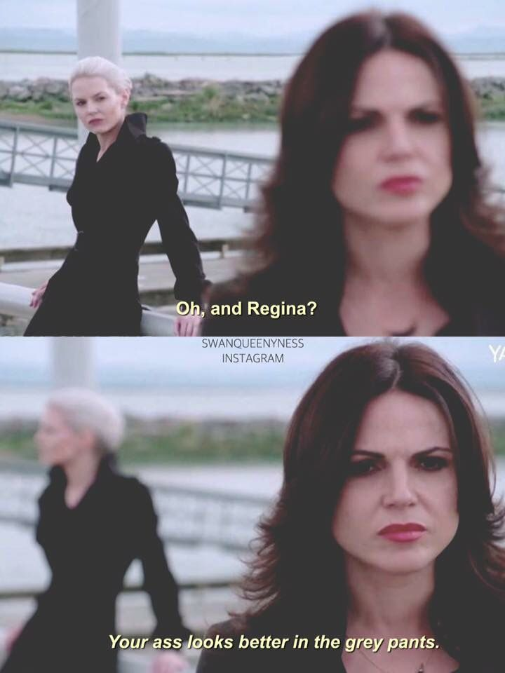 Awesome Regina and Emma (Lana and Jen) in the awesome Once S5 fall premiere E1 #DarkSwan aired Sunday 9-27-15