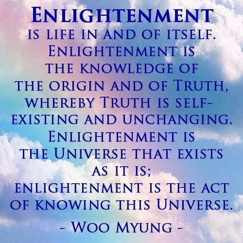 Enlightenment - by Woo Myung