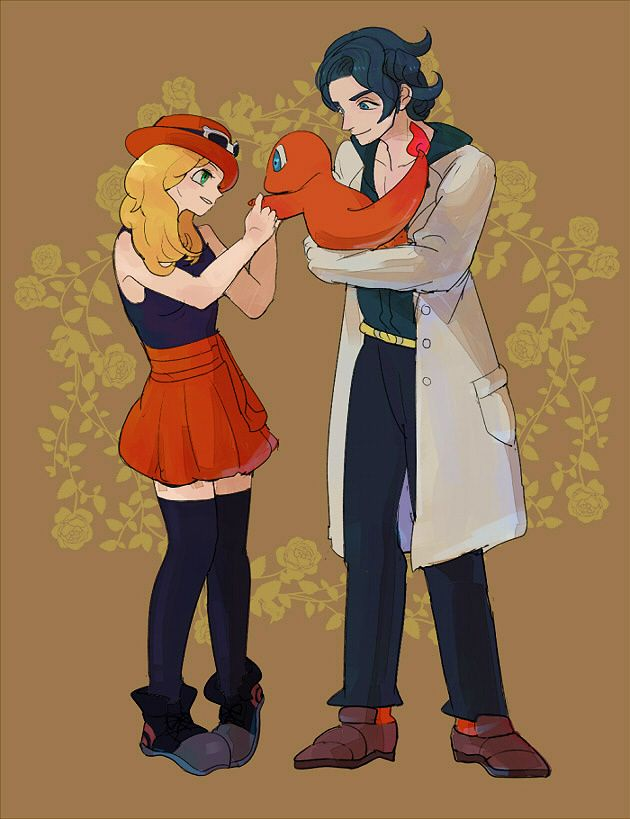 17 Best images about Attractive Pictures of Professor ...Serena And Professor Sycamore