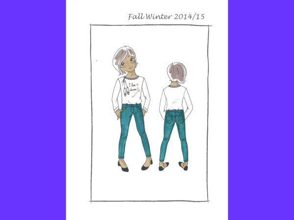 isabellaqhdesign_five pockets denim garment dyed