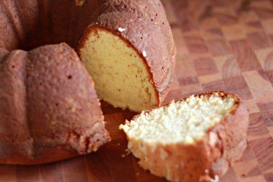 Cardamom Vanilla Pound Cake for Owen's Trifle Bday Cake