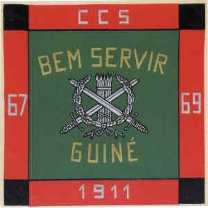 Companhia de Comando e Serviços do Batalhão de Caçadores 1911 Guiné 1967/1969