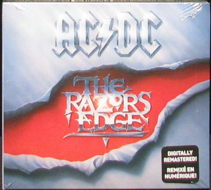 Northern Volume - AC/DC - The Razors Edge (Remastered Audio CD), $9.95 (https://www.northernvolume.com/ac-dc-the-razors-edge-remastered-audio-cd/)