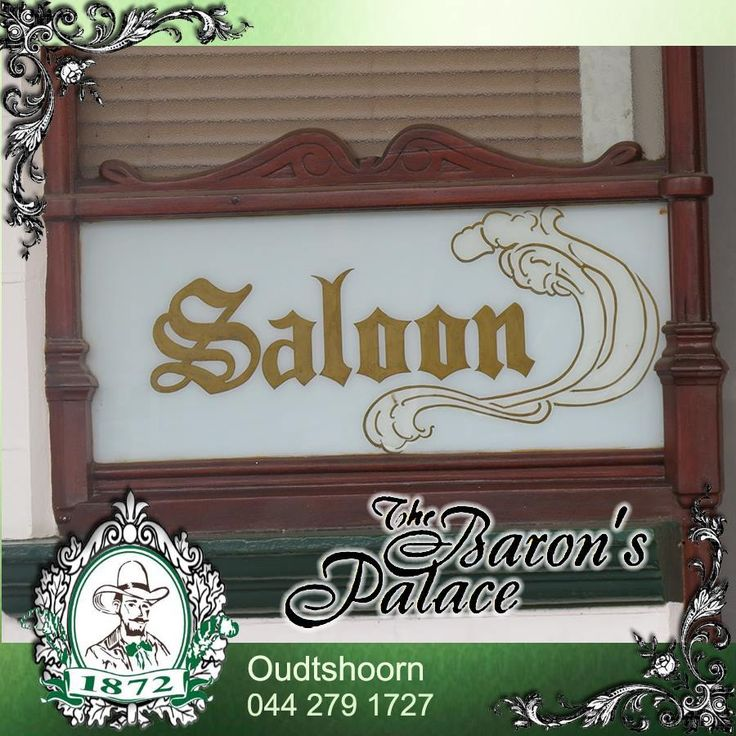 Time to relax with your friends again as we reach the middle of the work week. The Baron's Palace Saloon is the place to be with friends and to enjoy the atmosphere in an ago old fashion. See you here tonight. Alcohol not served to person under 18. #venue #relax #oudtshoorn