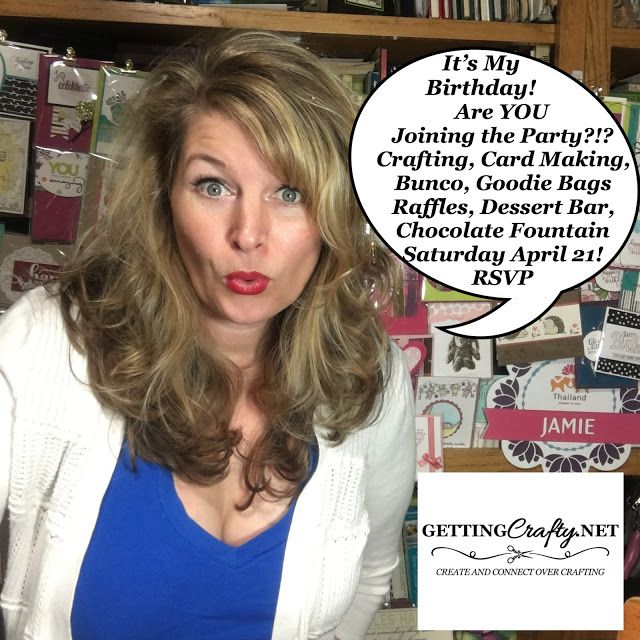 Getting Crafty with Jamie: Last chance.. Create & Connect over Crafting and Bunco..