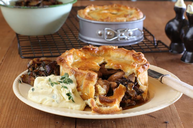 Rabbit, Prune & Pancetta Pies - Maggie Beer
