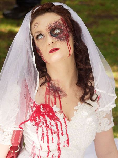 44 best Bride Makeup Looks & Ideas For Halloween images on ...