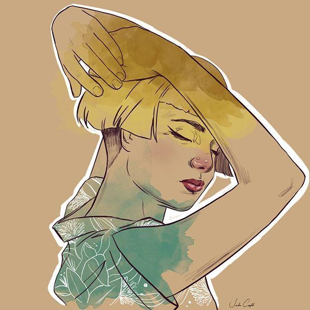 """""""La chica que creó sus propios mundos, porque estos no eran suficientes. La chica extraterrestre""""°°°°°°°°°°°°°°°°°°°°°°°°°°°°°°°°°°°°°°°°°°°°°°°°°°°°°°°°°°°°°°°°°°°°°°°°°°°°°°°°°°°°°°°°°°°°°°°°°°°°°°°°°°°°°°°Quien me escribió estas palabras, nunca escribió mayor verdad. Gracias por hacerlo y abrirme los ojos aquel día. #color#martians#martian#digital#artwork#wip#ink#watercolor#nature#universe#portrait#theend#picture#prjnt#acuarela#dibujo#draw#love#femme#kissme#female#plants#flowers#she#s..."""