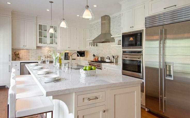 The 77 best images about hamptons kitchen on pinterest for Hampton style kitchen designs