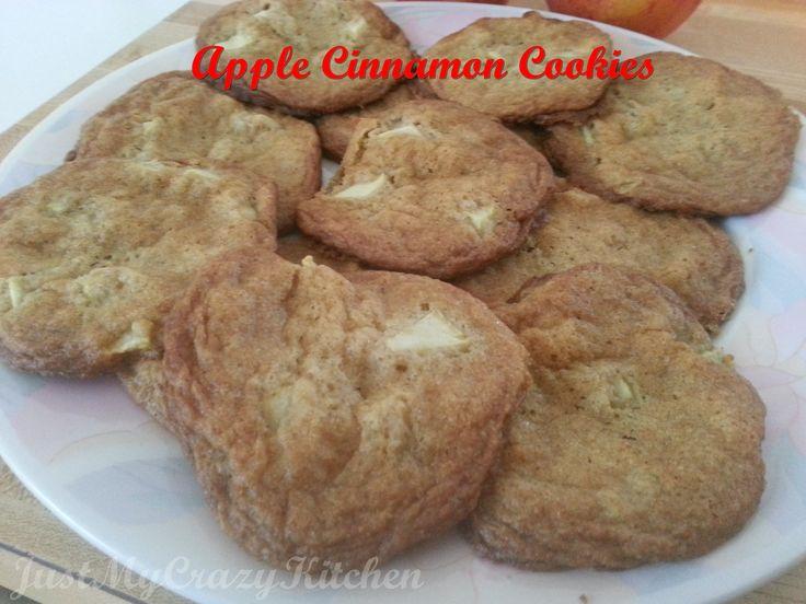 Apple Cinnamon Cookies | food | Pinterest