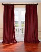... Extra Wide Curtain Panel - Victorian - Curtains - by Overstock.com