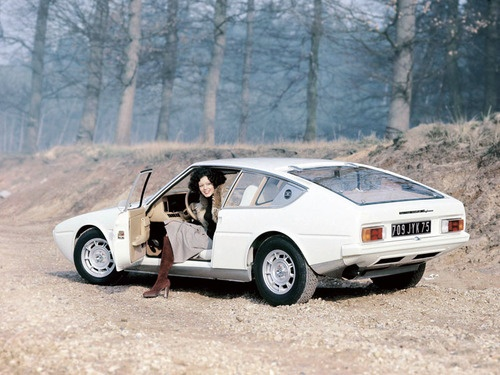 Matra Bagheera (1973) – Was a sports car created by the French engineering group Matra in cooperation with the automaker Simca and design by Greek designer Antonis Volanis.