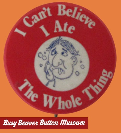 the day after: Business Beavers, Pin Buttons, Buttons Museums, Advertising Pin, Beavers Buttons