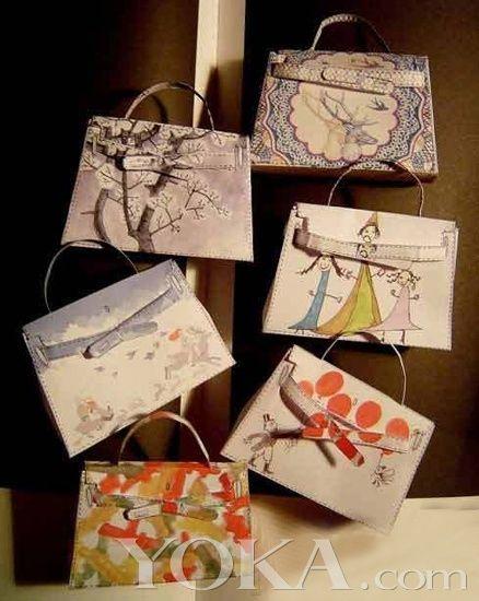 DIY Hermes Kelly bag