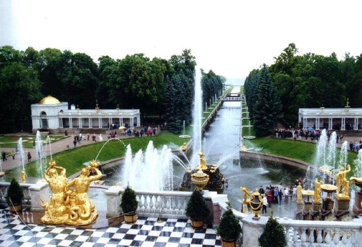 PeterhoffFountains - Historic Centre of Saint Petersburg and Related Groups of Monuments - Wikipedia, the free encyclopedia