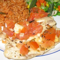 Tilapia.  Easy recipe on the grill or in the oven.  Think this is dinner tonight.
