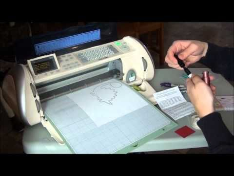 Episode 36 - Writing with your Cricut using the Sharpie Housing