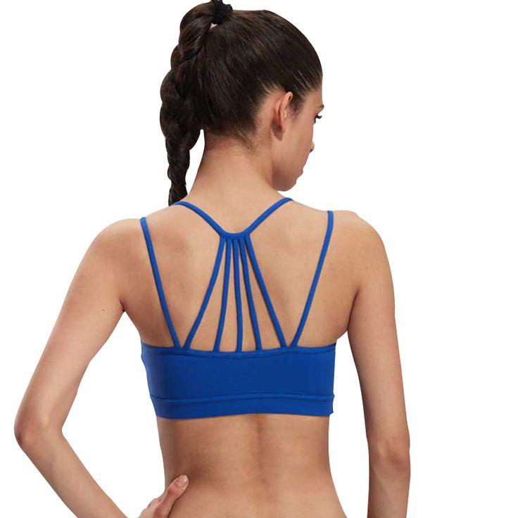 Heal Orange Women Sports Bra Top For Running Sexy Gym Vest Push Up Underwear Fitness Yoga Quick Dry Bra Workout Tank Top WX10
