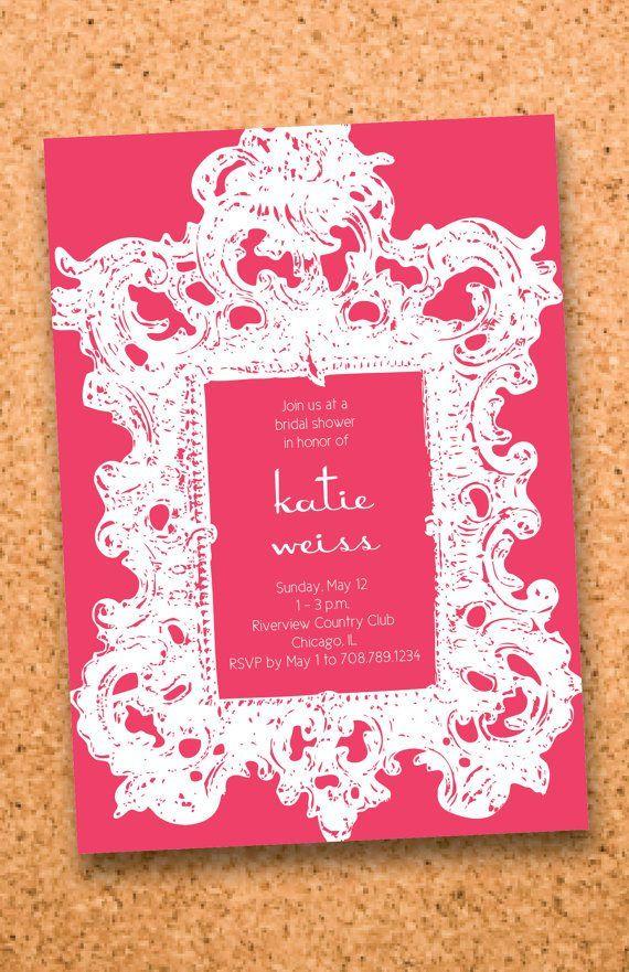 bridal shower invitations free printable templates%0A Wedding Printables    Stylish New Designs   Emmaline Bride      Invites  WeddingBridal Shower InvitationsFree