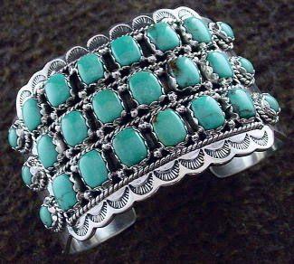 TURQUOISE EARRINGS: Native American Jewelry
