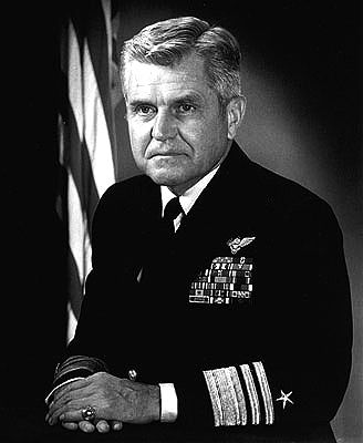 July 5th, 2005 - James Stockdale, U.S. Navy vice admiral, died at 81.  Stockdale retired to Coronado, California, as he slowly succumbed to Alzheimer's disease. He died from the illness in 2005. Stockdale's funeral service was held at the Naval Academy Chapel and he was buried at the United States Naval Academy Cemetery.
