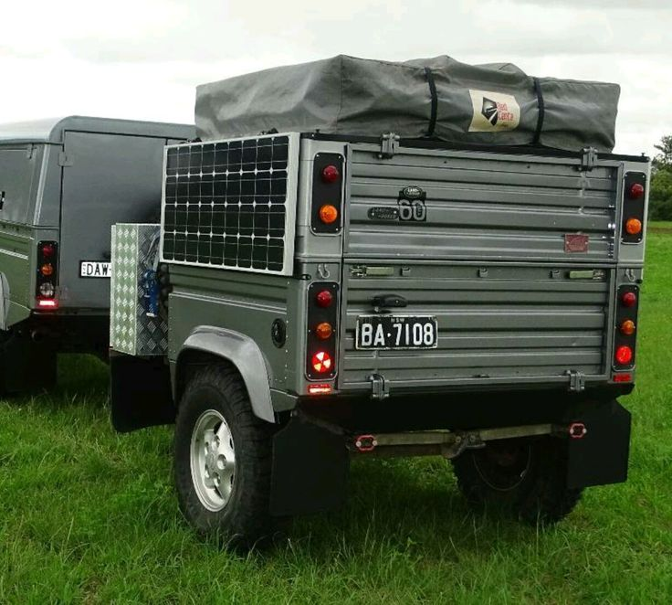 17 Best Images About Land Rover Defender Trailers On