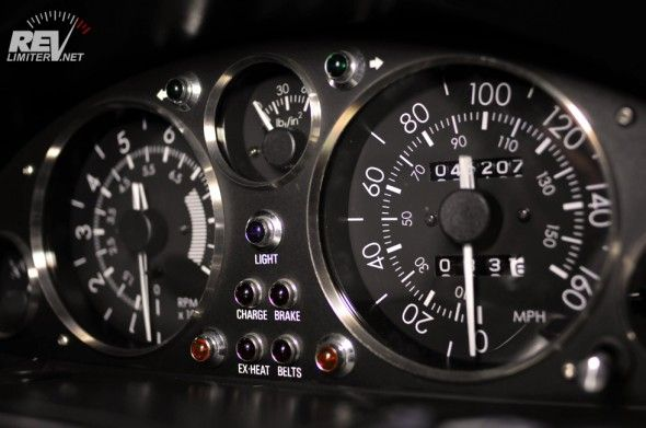 NA - RevLimiter original Warbird gauge faces for Mazda MX-5 Miata.