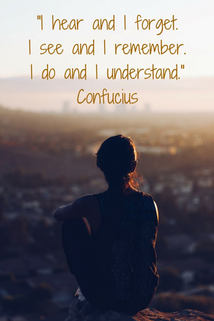 Confucius quote about learning and understanding