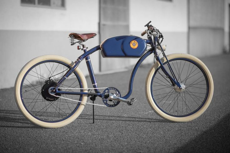 These Stylish Electric Bicycles Are Inspired By Classic Café Racers. Want.