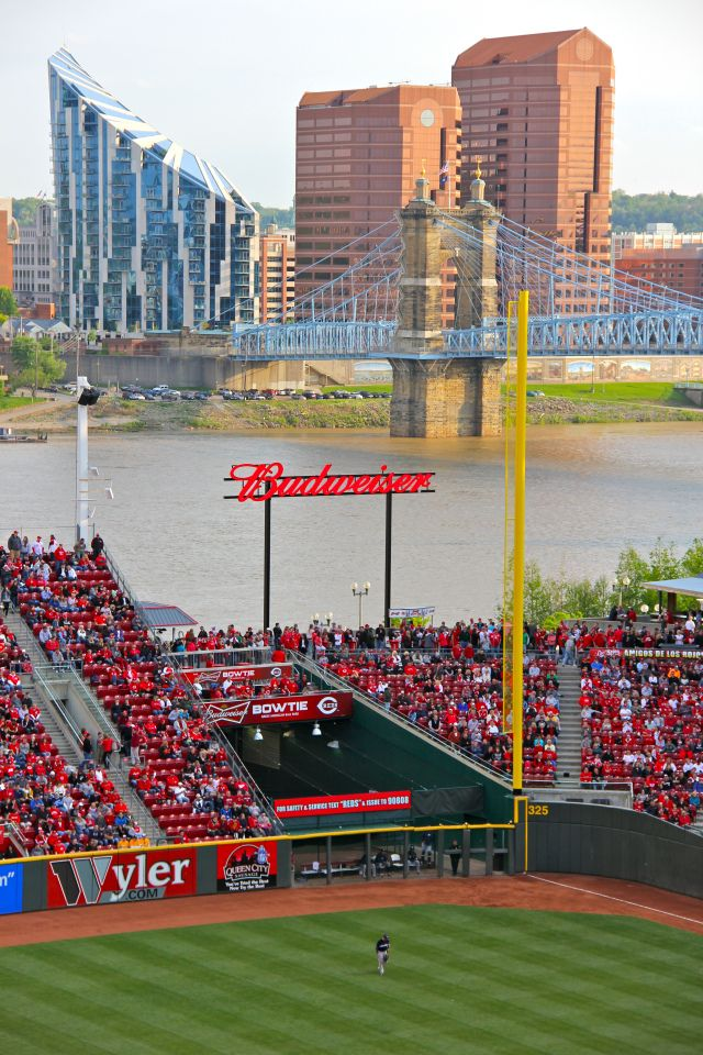 Cincinnati Reds Great American Ballpark in Cincinnati, Ohio