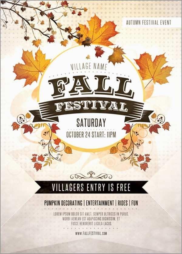 Fall Flyer Templates Free Festival Flyer Free Flyer Templates