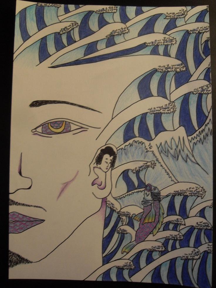 Hokusai Inspi'