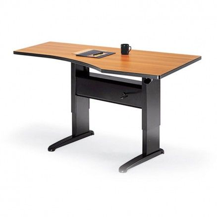 Global KD6436 - Computer corner height ajustable table.  Available for online purchase at Ugoburo.ca