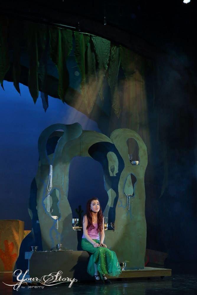 Ariel's grotto, the little mermaid, design by Brian Ebbinghaus
