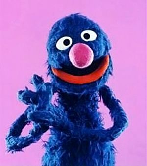 Lovable furry old Grover ~ favorite Sesame Street character