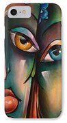 ' The View ' IPhone Case by Michael Lang