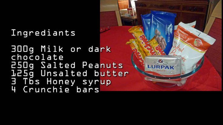 Nigela Peanut Crunchy Chocolate Bars