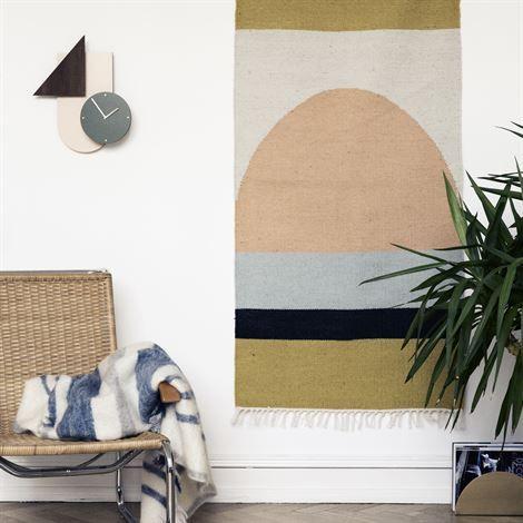 Kelim tapijt small - halve cirkel - Ferm Living