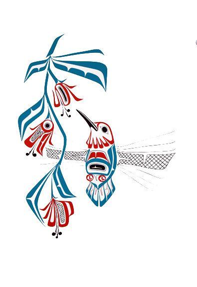 Hummingbird-Prints - Glen Rabena, Northwest Coast Native Artist