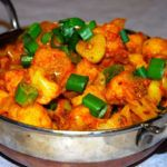Recipe for a simple and utterly delicious Cauliflower Sabzi (Phool Gobi Sabzi) made with ingredients in the pantry. This recipe requires almost no prep.