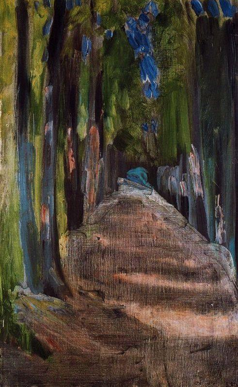 Henri Matisse - Allée dans le Bois de Clamart