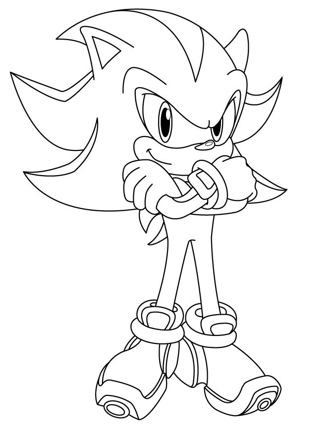 41 Unique Shadow The Hedgehog Coloring Pages Spiderman Art Sketch Super Mario Coloring Pages Coloring Pages