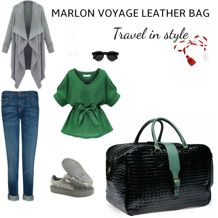 Start your spring with a vacantion, but don't forget about being chic. Get your voyage Marlon croco bag with you and travel in style.