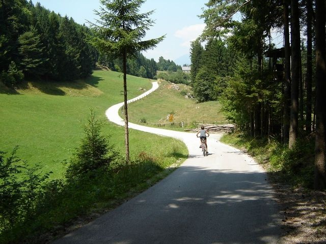 3. This is a great running route in Slovenia.