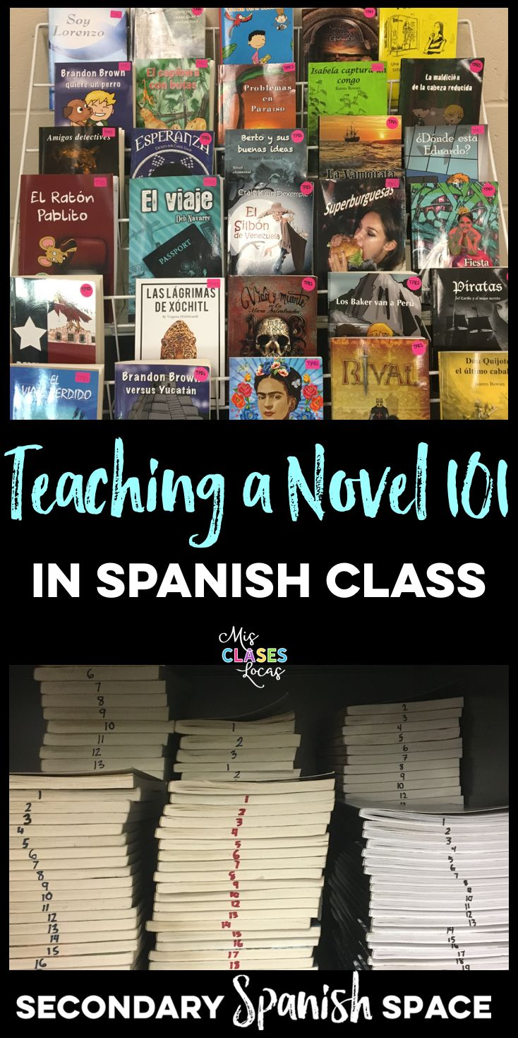 Teaching a Novel 101 The idea of teaching your first novel in Spanish class can be pretty scary. It was a big change of mentality from the...